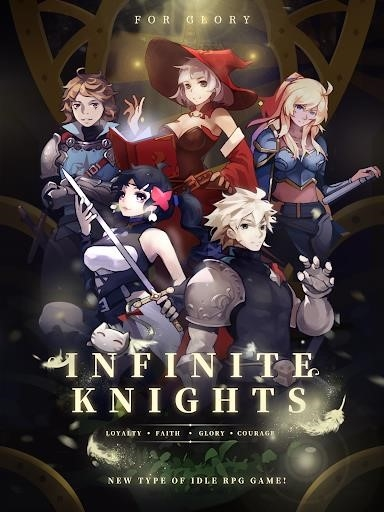 Скриншот Infinite Knights — Turn-Based RPG для Андроид