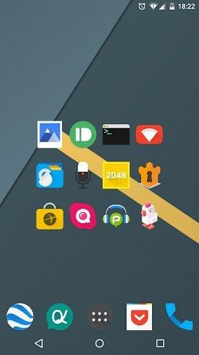 Скриншот Iride UI — Icon Pack для Андроид