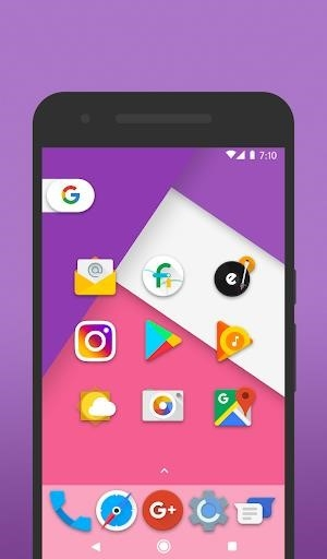 Iride UI — Icon Pack для Андроид