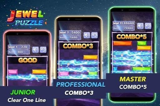 Скриншот Jewel Puzzle для Андроид