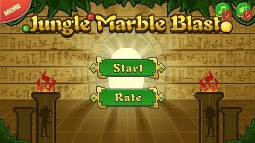 Приложение Jungle Marble Blast для Андроид