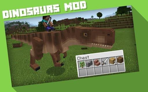 Скриншот Jurassic Craft Addons MCPE для Андроид