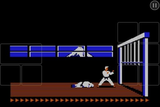 Скриншот Karateka Classic для Андроид