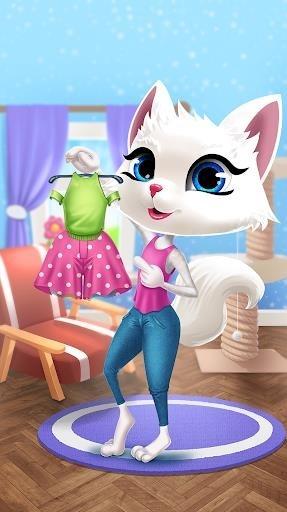 Скриншот Kitty Kate Caring для Андроид