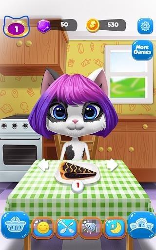 Приложение Kitty Kate Caring для Андроид