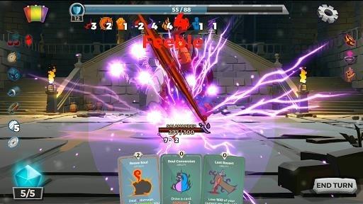Легенды подземелья: Карточная RPG-игра для Android