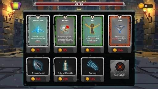Приложение Легенды подземелья: Карточная RPG-игра для Андроид