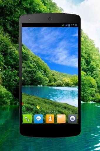 Лесной водопад PRO живые обои для Android