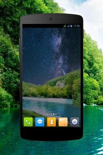 Приложение Лесной водопад PRO живые обои для Андроид