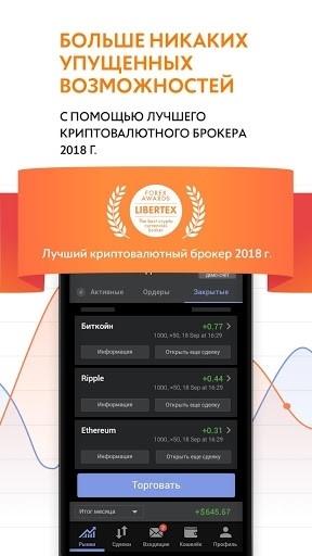 Libertex Online Trading для Android