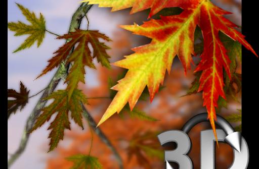 Autumn Leaves in HD Gyro 3D Parallax Wallpaper для Андроид скачать бесплатно