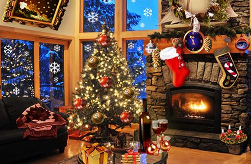 Christmas Fireplace LWP Full для Андроид скачать бесплатно