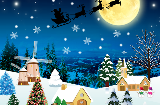 Christmas Live Wallpaper Full для Андроид скачать бесплатно