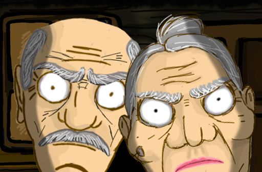 Grandpa And Granny Escape House для Андроид скачать бесплатно