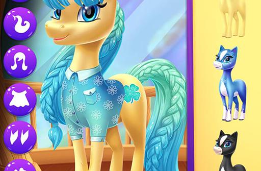 Magical Unicorn Candy World для Андроид скачать бесплатно