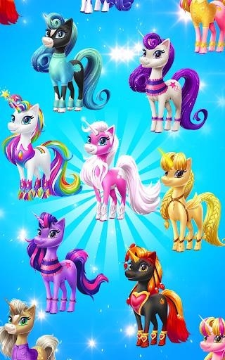 Magical Unicorn Candy World для Android