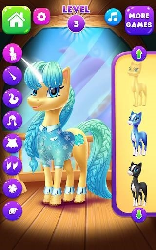 Приложение Magical Unicorn Candy World для Андроид
