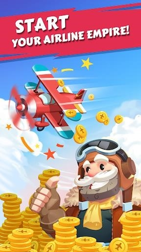 Merge Plane — Click & Idle Tycoon для Android