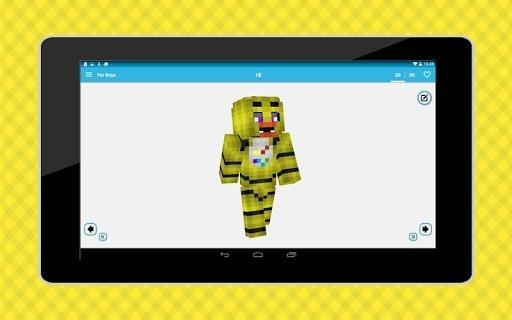 Скриншот Мир Скинов для Андроид