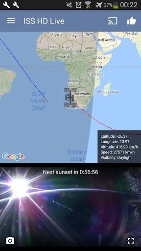 МКС Прямо Сейчас для Андроид