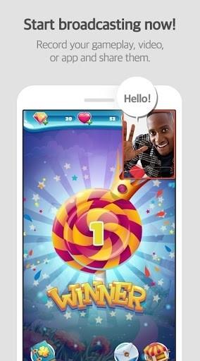 Скриншот Mobizen для Андроид