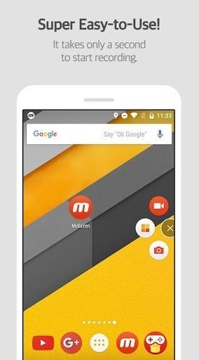 Приложение Mobizen для Андроид