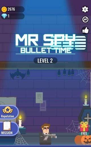 Mr Spy — М-р Буллет cупергеройское приключение для Андроид