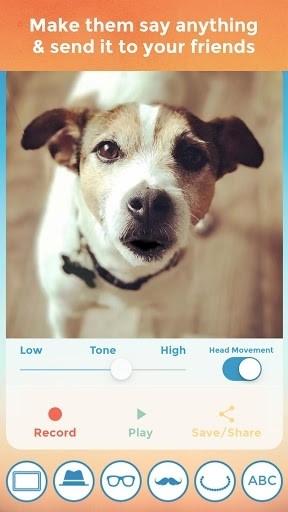 Скриншот My Talking Pet для Андроид