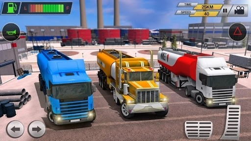 Offroad Oil Tanker Transport Truck Driver 2018 для Android