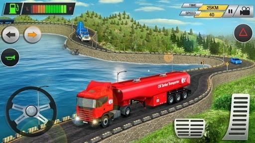 Приложение Offroad Oil Tanker Transport Truck Driver 2018 для Андроид