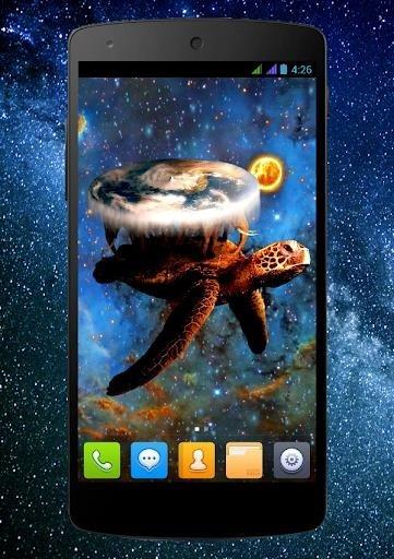 Приложение Плоский мир PRO Живые Обои для Андроид
