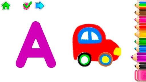 Приложение РИСУЕМ БУКВЫ! Азбука для детей! Учимся рисовать для Андроид