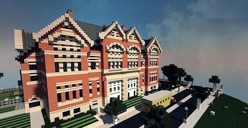 Скриншот School Maps for Minecraft PE для Андроид