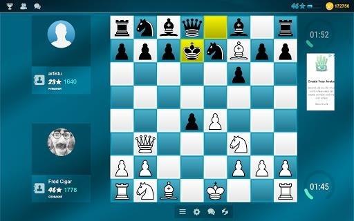 Скриншот Шахматы онлайн для Андроид