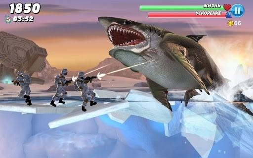 Скриншот Shark World для Андроид