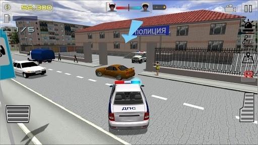 Симулятор русского гаишника 3D для Андроид