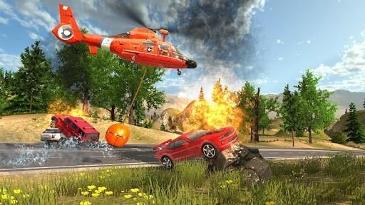 Скриншот Симулятор Спасательного Вертолёта для Андроид