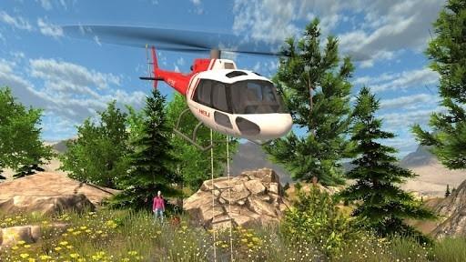 Приложение Симулятор Спасательного Вертолёта для Андроид