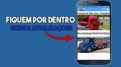 Скриншот Skins World Truck Driving Simulator для Андроид