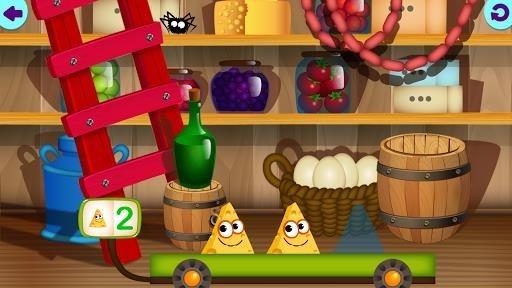 Скриншот Смешная Еда 2! Развивающие Игры для Детей Малышей для Андроид