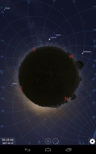 Скриншот Stellarium планетарий для Андроид