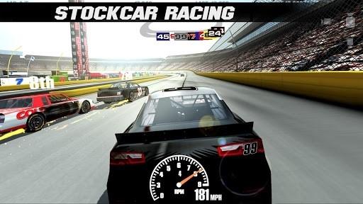 Скриншот Stock Car Racing для Андроид