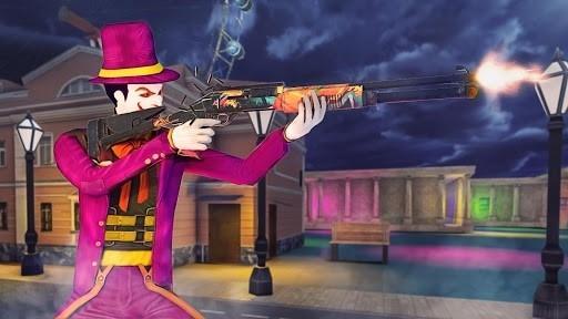 Скриншот Страшные Клоун Атака Ночь город для Андроид