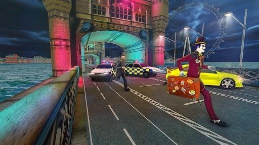 Приложение Страшные Клоун Атака Ночь город для Андроид