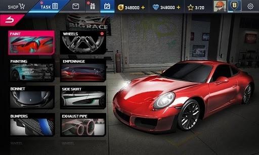 Скриншот Street Racing HD для Андроид