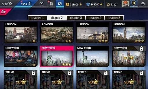 Приложение Street Racing HD для Андроид