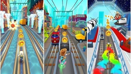 Приложение Subway Surfers для Андроид