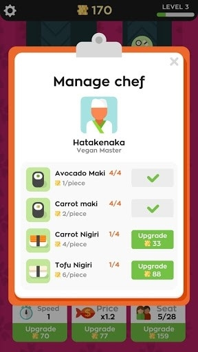 Sushi Bar для Android