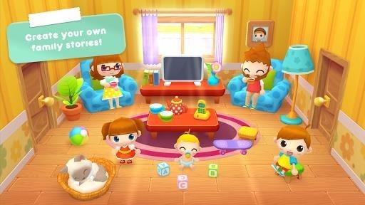 Скриншот Sweet Home Stories — My family life play house для Андроид