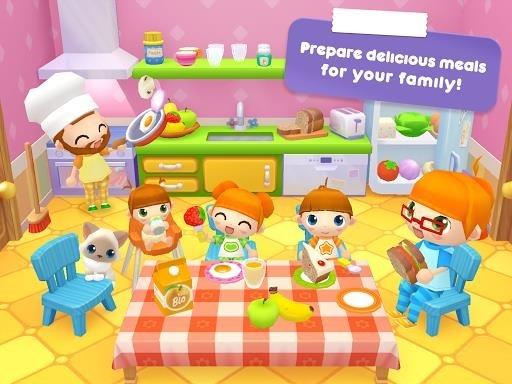 Приложение Sweet Home Stories — My family life play house для Андроид